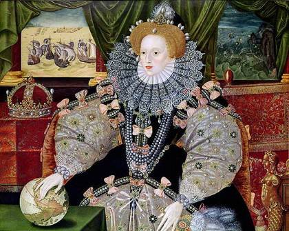 Queen Elizabeth I presided over the English Renaissance