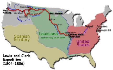 Lewis and Clark Expedition (1804-06)
