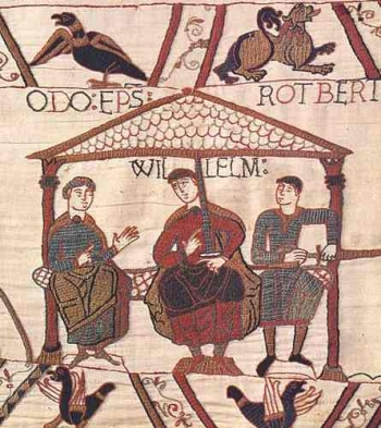 William the Conqueror (from Bayeux Tapestry)